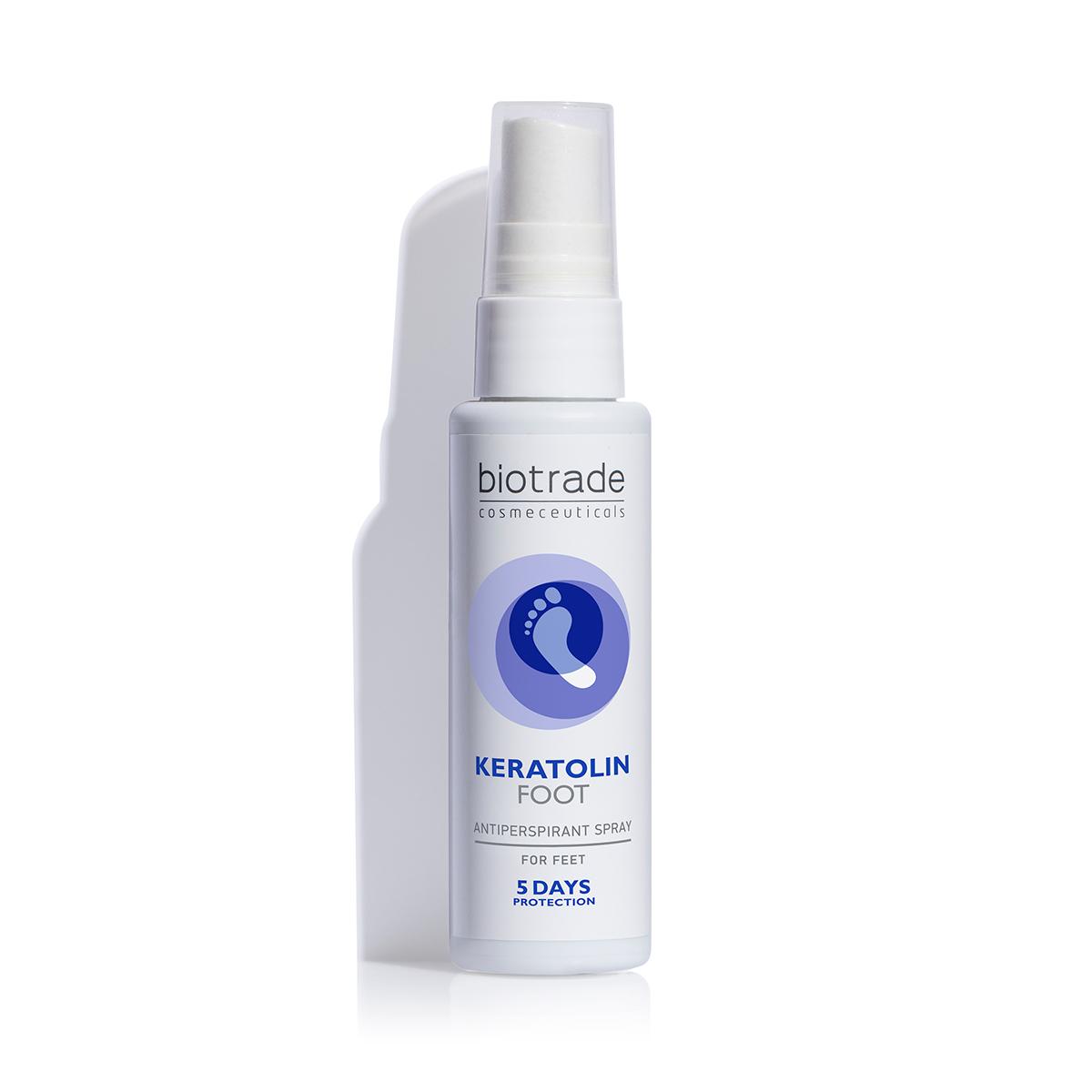 Keratolin Foot spray antiperspirant